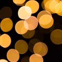 gkittering lights